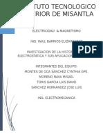 Investigacion Historia de La Electrostatica
