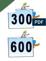 καρτέλες 100-1000
