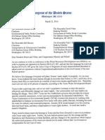 Texas Delegation Letter on WRDA
