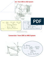 Conversion From ORS to ASA System