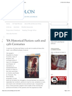 YA Historical Fiction–12th and 13th Centuries | Semicolon
