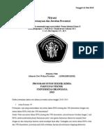 Abimata Dwi Wahyu (115061100111010) Revisi Pertanyaan Diskusi Nitrasi