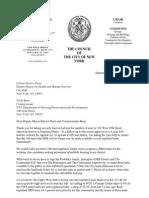 Letter to DM and HPD regarding Freedom House (September 30, 2014)