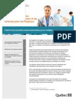 Recommandations québécoises sur l'Ebola