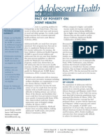 THE IMPACT OF POVERTY ON ADOLESCENTS STUDY