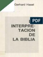 Hasel_Interpretación de La Biblia