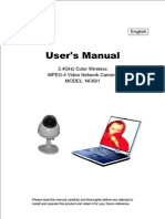 Nc 601 User Manual
