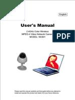 Nc 601 User Manual