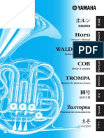 Horn Ownersmanual Spanish