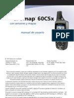 GPSmap 60CSx - Manual de Usuario