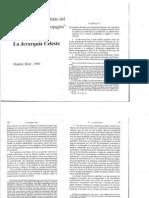 Pseudo Dionisio Areopagita - La Jerarquía Celeste