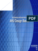 AHU Design Basics