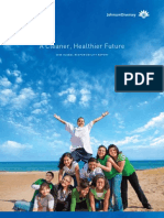 Johnson Diversey 2008 Sustainability Report