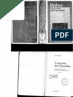 Jesi - Introduzione a Martin Buber, I Racconti Dei Chassidim