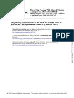 Pulp Capping With MTA Bogen Et Al 2008