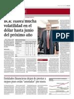 BCR_Habrá Mucha Volatilidad Del Dólar Hasta Junio 2015_1!10!2014