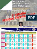 3 Semana Periodo Preparatorio Jose Venanzio Futbol Sala