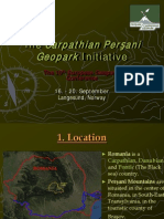 Carpathian Persani Geopark
