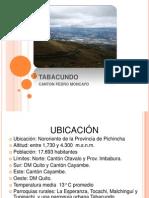 EXPOCICION TABACUNDO