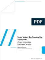 Sonoridades Do Cinema Dito Silencioso