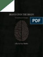 Brand Upon the Brain