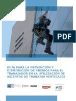Guia Para La Prevencion y Disminucion de Riesgos en Trabajos de Altura