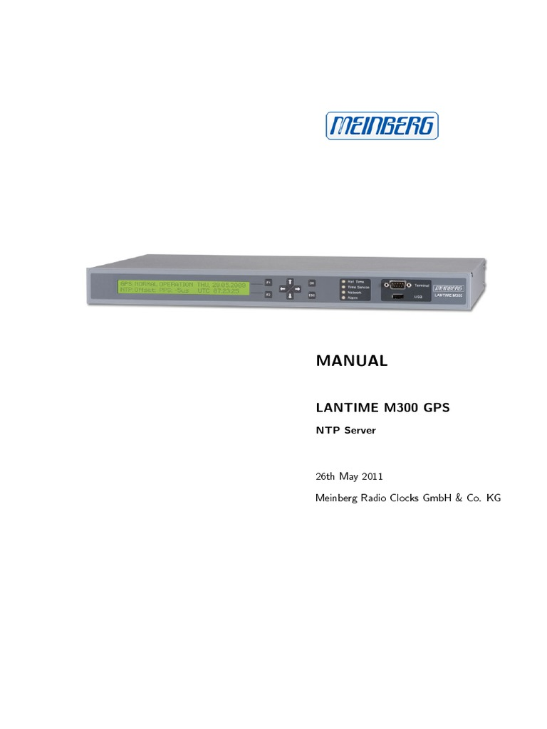 Lantime m300 manual