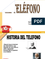 Historia Del Telefono, Trabajo de Tomy