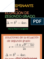 discriminantedeunaecuacindesegundogrado-120614072817-phpapp02
