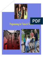 Teen Programming