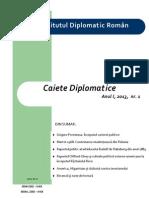 Caiete Diplomatice