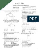 GATE ECE Solved Paper 1996