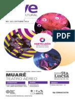 Agenda cultural de CONARTE   octubre 2014
