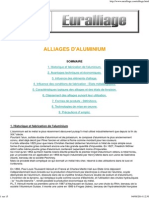 Alliages d' Aluminium