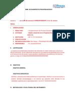 7. Informe de Diagnóstico Psicopedagógico