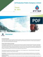 DocumentSSHE_ReportFile_2985CLSA Distribution Final - CLSA Investors' Forum September 17 - 18, 2014
