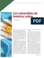 Los Vulnerables de América Latina (La Nación 2392)