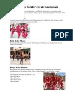 Danzas Folklóricas de Guatemala Con Imagenes