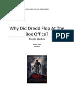Why Did Dredd Fail at the Box Office?