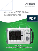 Anritsu Advanced VNA Cable Measurements FB