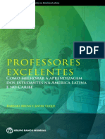 Portuguese Excellent Teachers Report