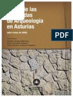 Actas I Jornadas de Arqueologia en Asturias
