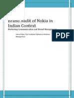 Brand Audit Nokia