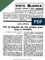 La Revista Blanca (Madrid). 15-5-1930