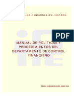 Manual de Proced.depto. Control Financiero