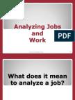 Analysing Job and Work
