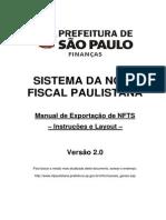 Manual de Exportação de NFTS _v2