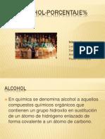 Alcohol Porcentaje