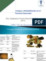 Manejo Quirúrgico y Rehabilitación BURNS Torres Pastrana 2013