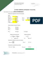 1.- Revisión de Atraques (45,22,11º) y Silletas